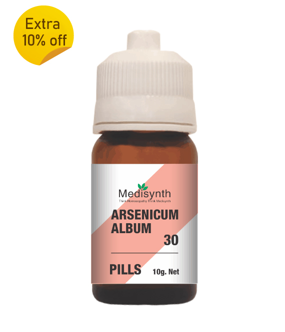 Arsenicum Album 30 pills  (10g)